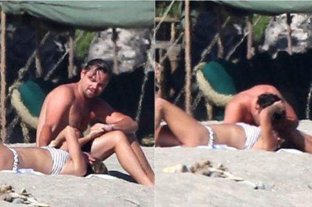 Captan a Leonardo DiCaprio muy cariñoso en Malibú
