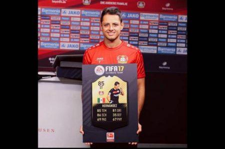 'Chicharito', en el equipo ideal de FIFA 17