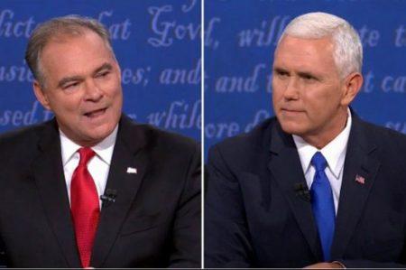 Defienden su esquina candidatos a 'vice'
