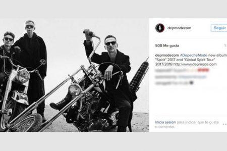 Depeche Mode anuncia nuevo disco