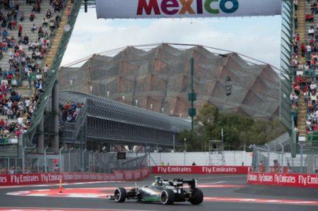 Gélido inicio de actividades en el Gran Premio de México