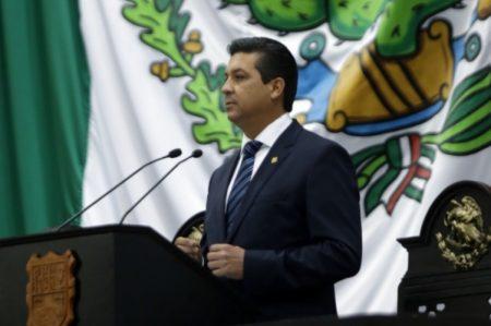 Toma de protesta de Francisco García Cabeza de Vaca como Gobernador