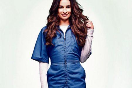 Lea Michele saca las garras