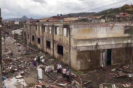 'Matthew' deja 17 muertos y devastación en el Caribe (VIDEO)