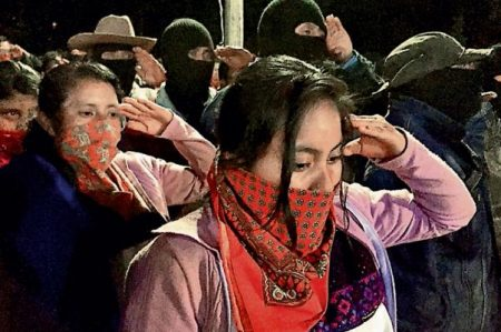 Postulará EZLN a una mujer a la Presidencia en 2018