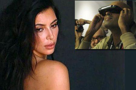 Transforman video sexual de Kim Kardashian en 'realidad virtual'
