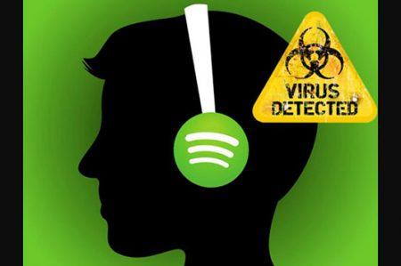 Usuarios de Spotify aseguran ser víctimas de malware