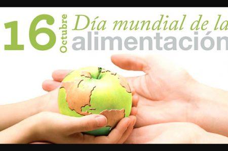 Conmemoran el Día Mundial de la Alimentación