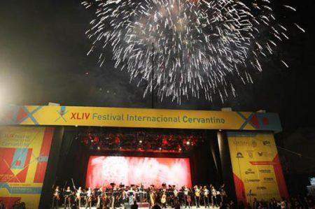 Inician actividades del Festival Cervantino