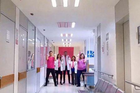 ISSSTE se une a campaña 'Guantes Rosas' contra el cáncer de mama