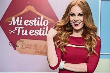 Daniela Magún enseña a vestir a la moda en tv