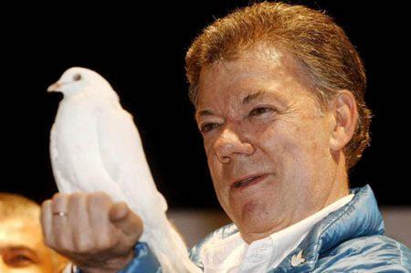 Presidente de Colombia Juan Manuel Santos gana Premio Nobel de la Paz