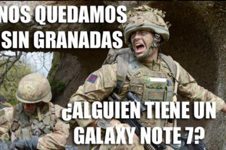 Memes del Galaxy Note 7 inundan la red