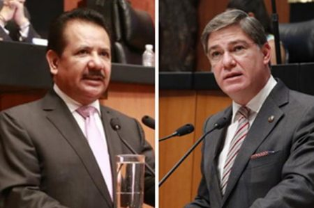 Recibe PRD queja por 'bromas' de senadores sobre trata
