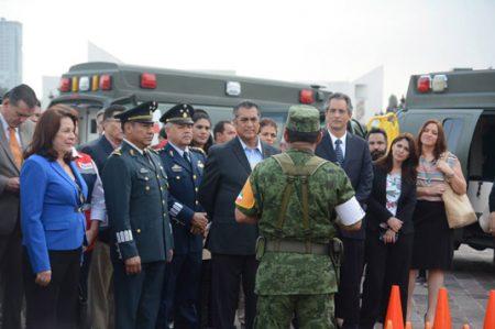 En NL hay 'seguridad patrimonial', dice jefe de zona militar