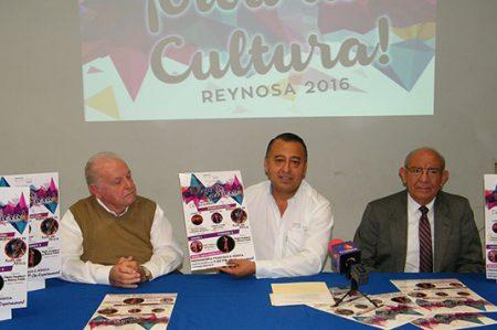 Invitan a festival '¡Viva la Cultura!' Reynosa 2016
