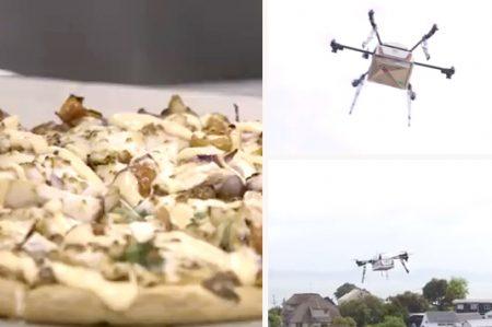 Adiós a los repartidores de pizza, lo de hoy son los drones