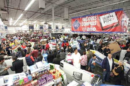 Desaceleran ventas minoristas pese a El Buen Fin