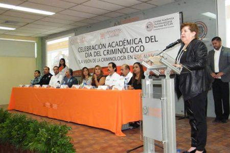 Celebra UAT Día del Criminólogo con conferencias