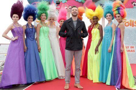 Justin Timberlake comparte foto divertida de 'Trolls'