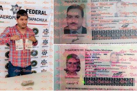 Liberan a sujeto que traía supuesto pasaporte falso de Duarte