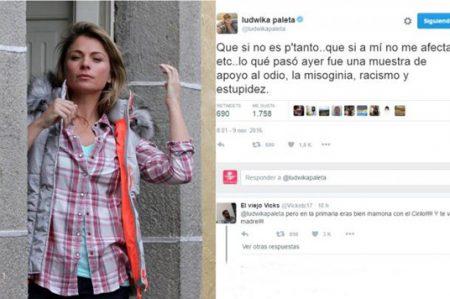 Ludwika Paleta opina sobre Trump y le hacen broma
