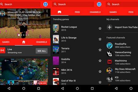 YouTube Gaming, plataforma para video-jugadores