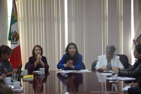 Legisladoras cierran filas por alerta de género