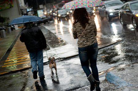 Lluvias de fuertes a intensas, prevén en Península de Yucatán y sureste del país
