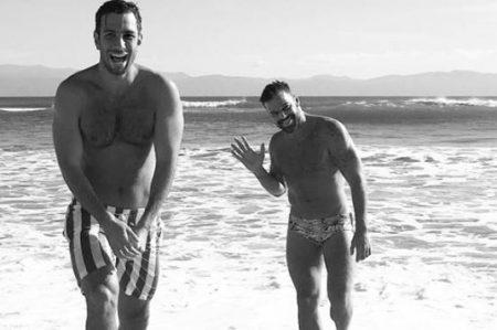 Ricky Martin y su novio disfrutan de Puerto Vallarta