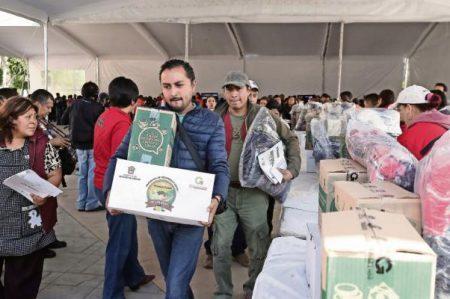 Anuncia Eruviel Ávila $11 mil de apoyo mensual a pirotécnicos