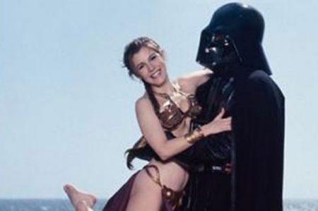 'Darth Vader', devastado tras la muerte de su hija 'Leia'