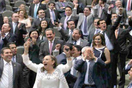 Bono no es ofensa: líder de la Cámara