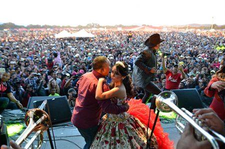 Registran 60 mil asistentes en fiesta de Rubí