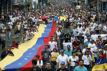 Protestas en Venezuela suman 94 muertos