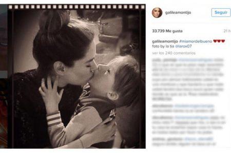 Galilea Montijo también es criticada por foto con su hijo