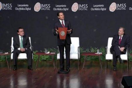 Lanza Peña Nieto la Cita Médica Digital