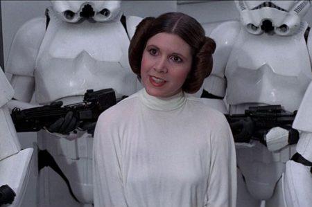 Sufre infarto la Princesa Leia