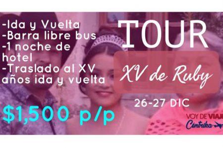Agencias de viaje hacen su 'agosto' con XV de Rubí