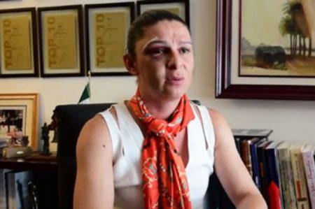Senadora, cantante, cajera y ama de casa agredidas en una semana