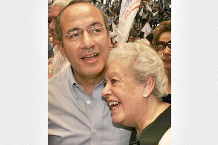 Fallece la madre del ex presidente Felipe Calderón