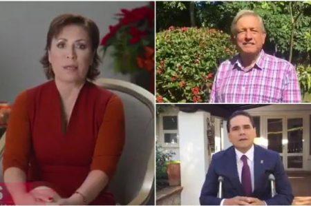Clase política desea Feliz Navidad a los mexicanos