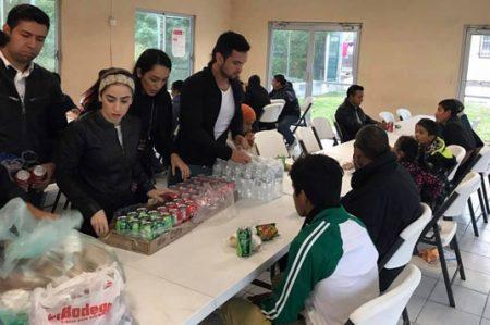 Reto 'Empatía Challenge' llega a la albergue de migrantes