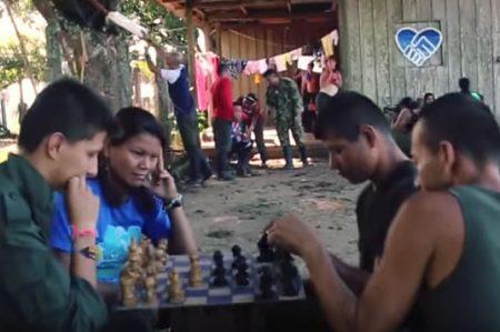 Las FARC también hacen 'Mannequin Challenge'