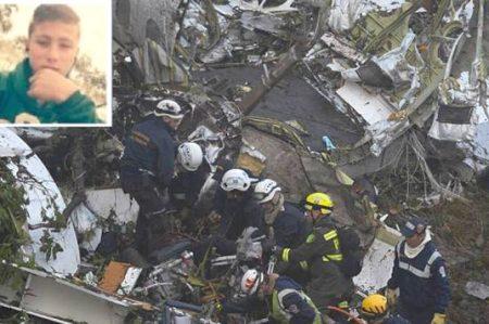 'Niño ángel' que guió a rescatistas al avionazo de Chapecoense aparece
