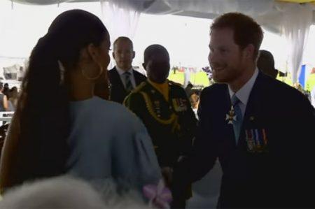 Rihanna y su encuentro con el príncipe Harry