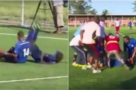 Futbolista muere minutos después de festejar su gol
