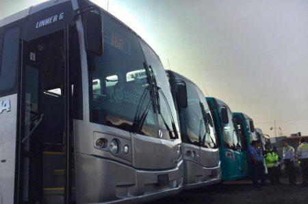 Amplian transporte público en Guadalupe, Juárez y Cadereyta