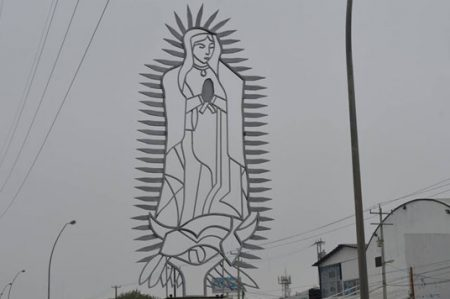 Aparece Virgen de Guadalupe en Lib. Monterrey-Matamoros