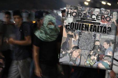 Los rostros de la violencia en el Palacio de Gobierno